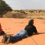 Namibia Kalahari Red Dunes Lodge Wanderung Iwanowskis Reisen - afrika.de