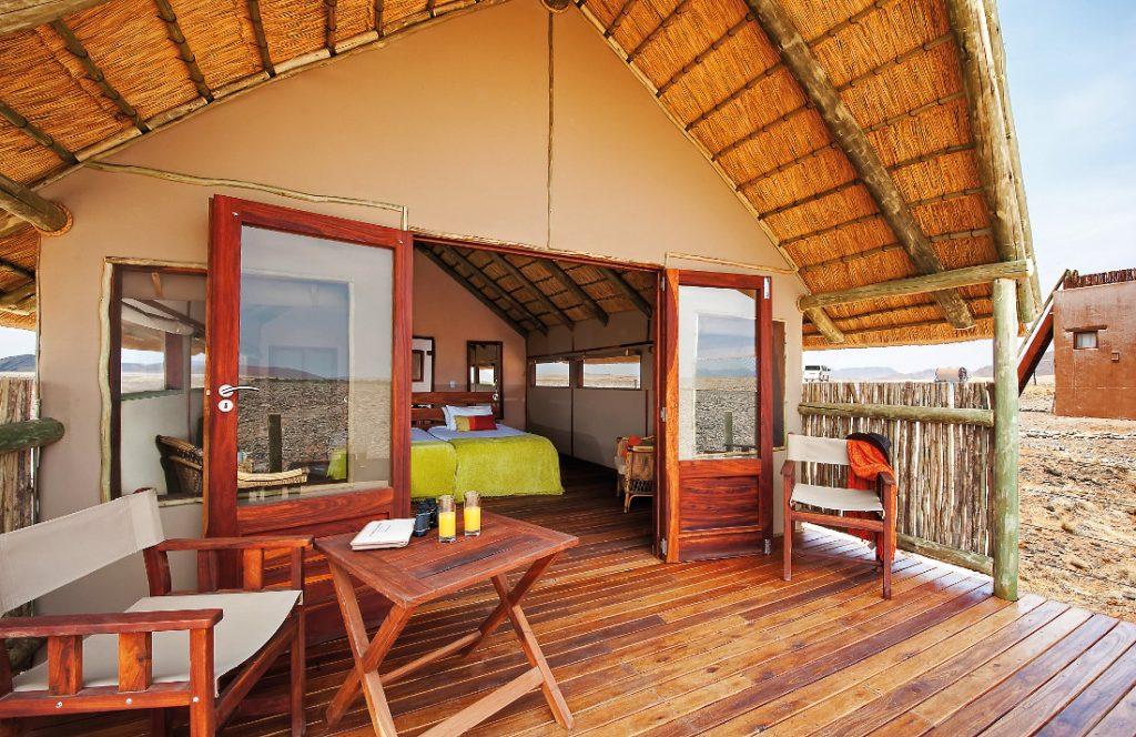 Namibia Sossusvlei Kulala Desert Lodge Unterkunft Iwanowskis Reisen - afrika.de