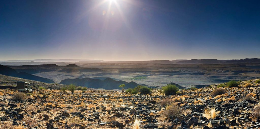 Namibia Landschaft Fish River Canyon Iwanowskis Reisen - afrika.de