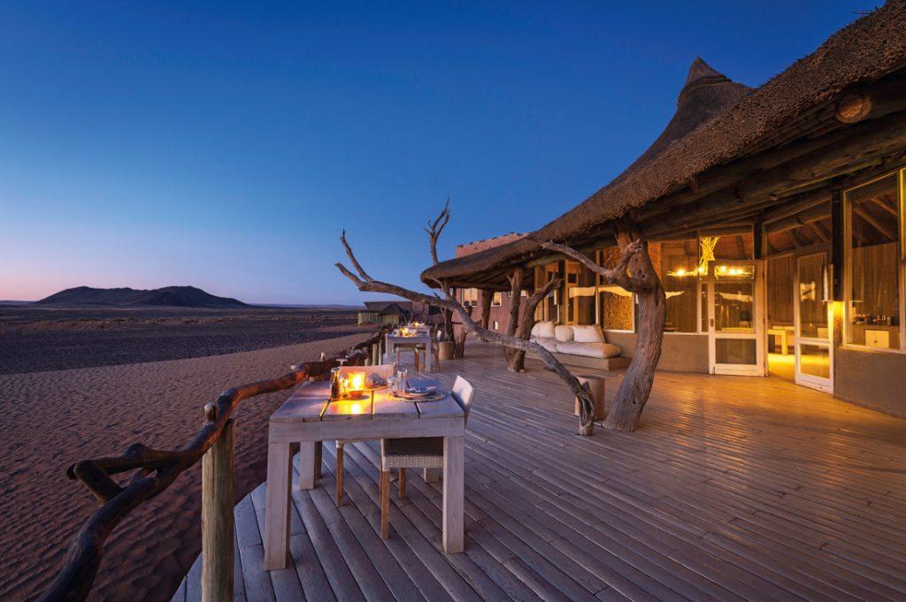 Namibia Sossusvlei Little Kulala Camp Iwanowskis Reisen - afrika.de