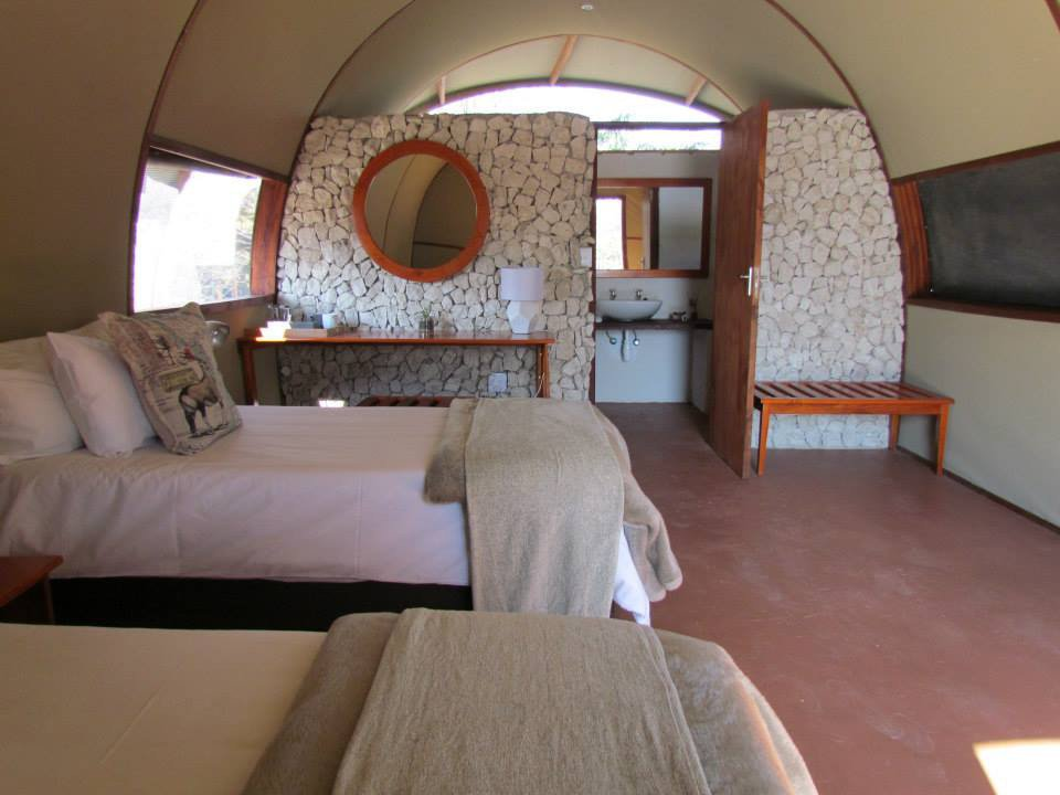 Mopane Village Lodge Etosha Unterkunft Namibia