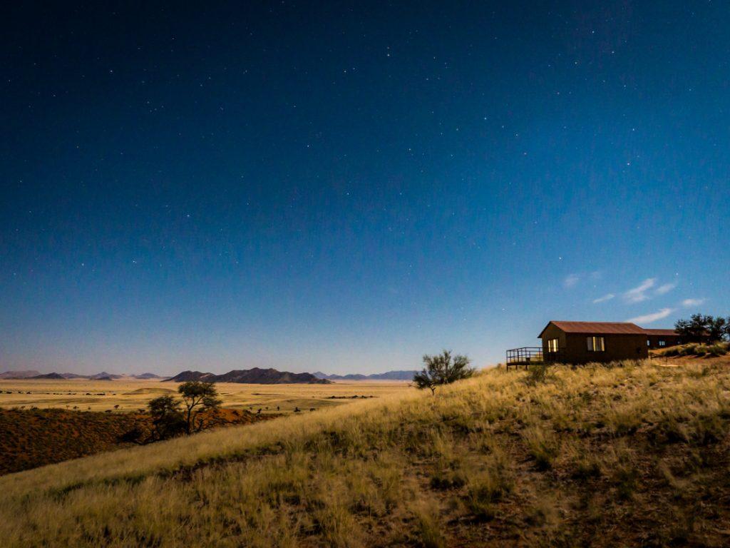 Namibia Sossusvlei Namib Dune Star Camp Sternenhimmel Iwanowskis Reisen - afrika.de