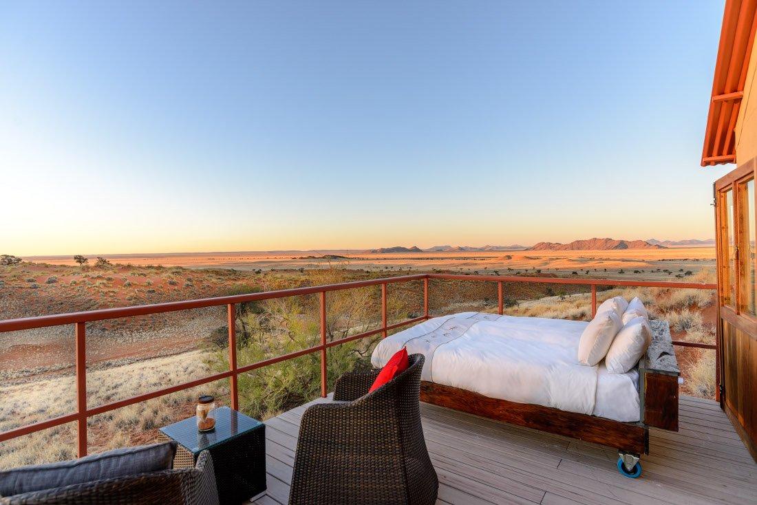 Namibia Sossusvlei Namib Dune Star Camp Zimmer Iwanowskis Reisen - afrika.de