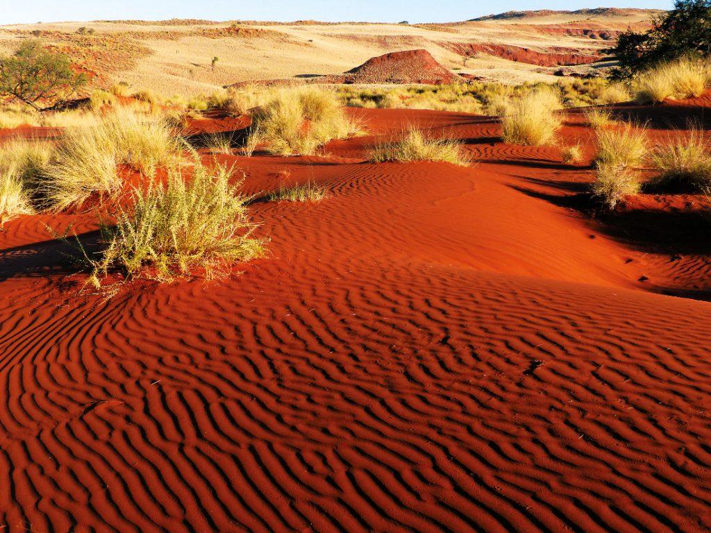 Namibia Sossusvlei Namib Dune Star Camp Landschaft Iwanowskis Reisen - afrika.de