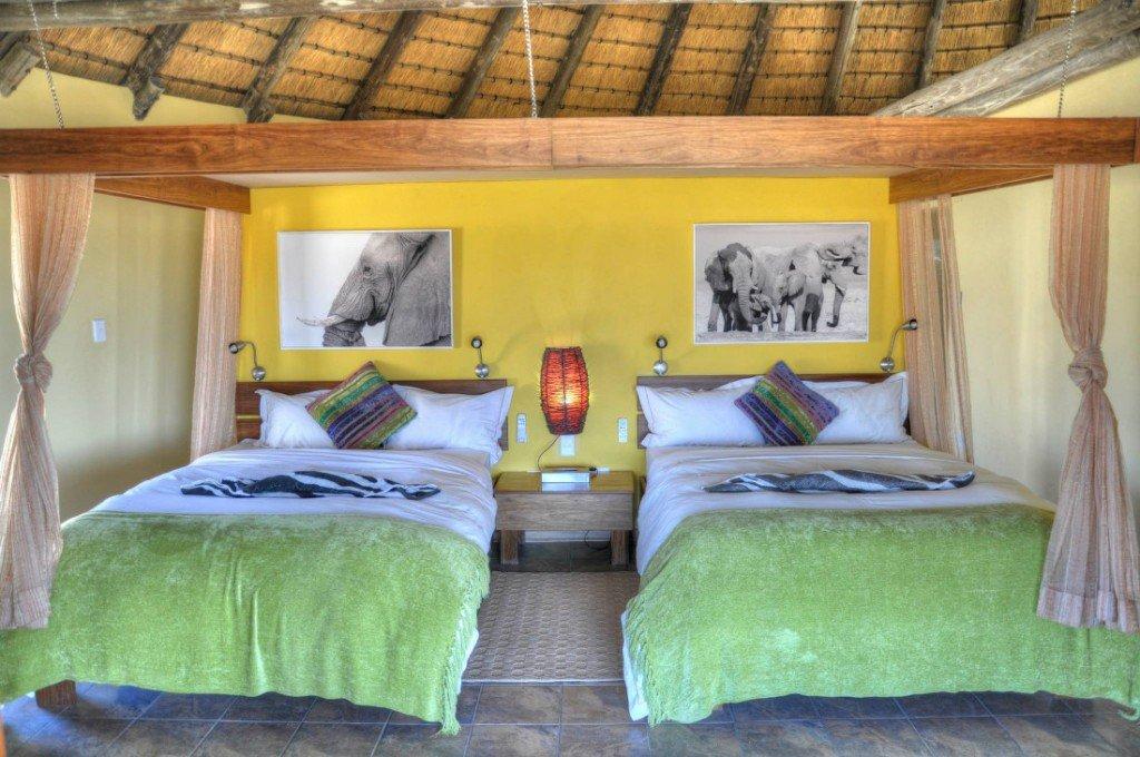 Namibia Onjala Lodge Gästezimmer