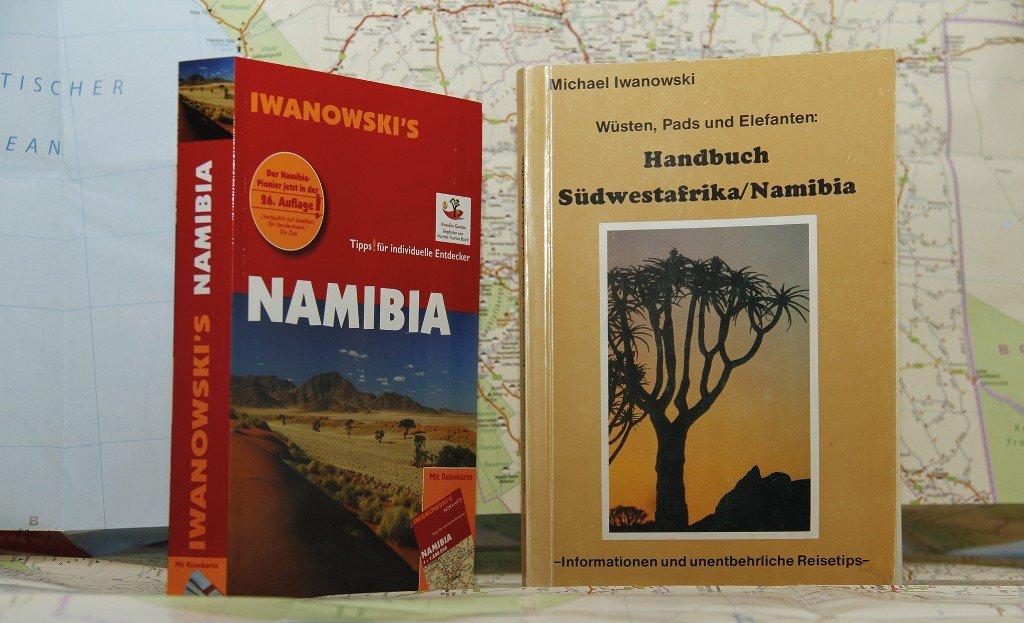 Namibia Reiseführer im Wandel: 1986 und 2012