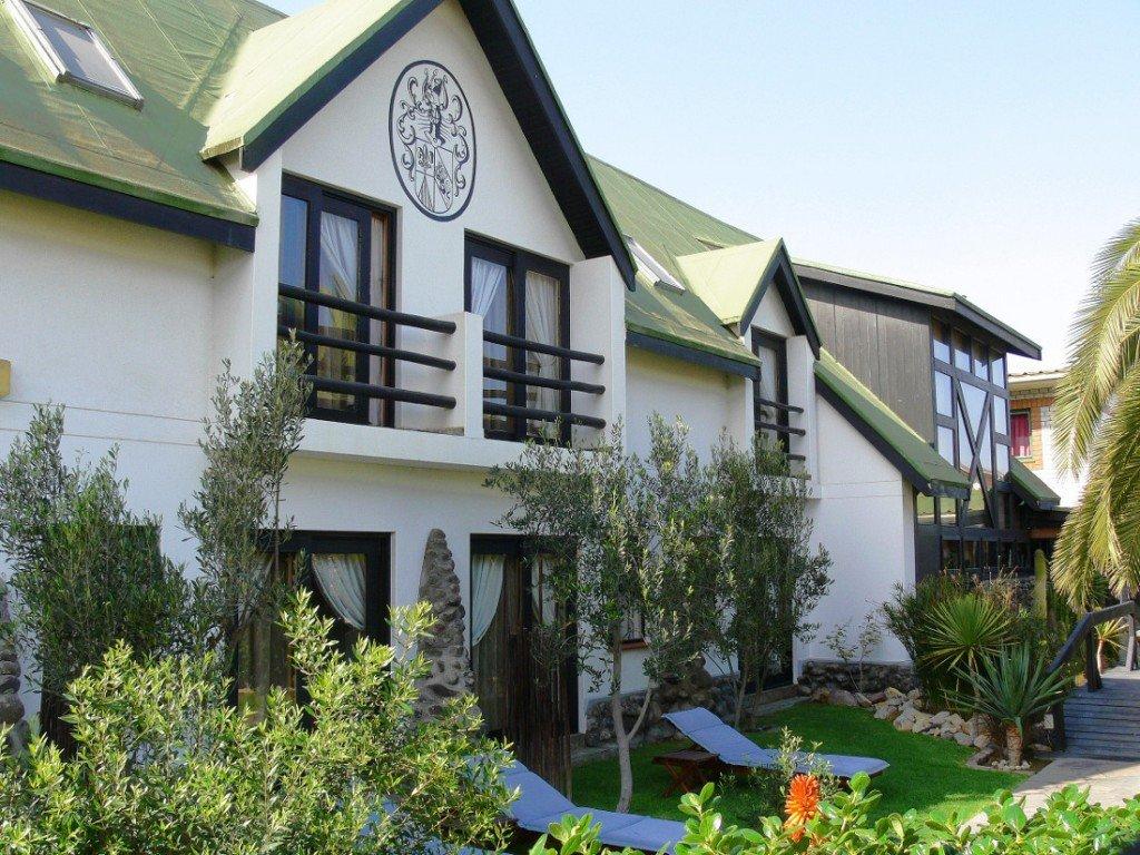 Namibia Swakopmund Sams Giardino Guesthouse Iwanowskis Reisen - afrika.de