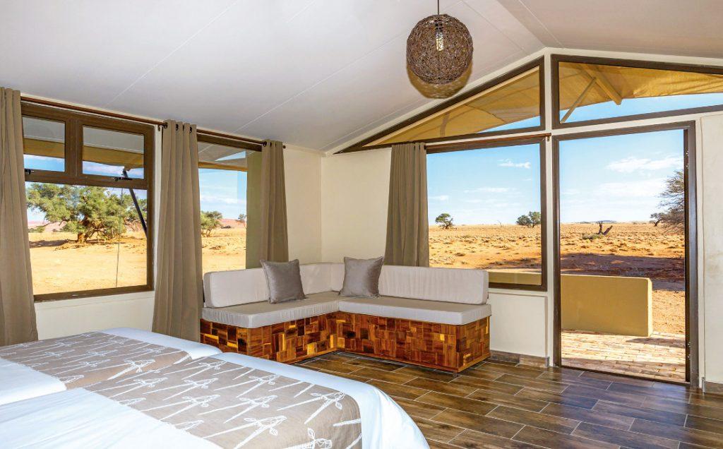 Namibia Sossusvlei Lodge Unterkunft Iwanowskis Reisen - afrika.de