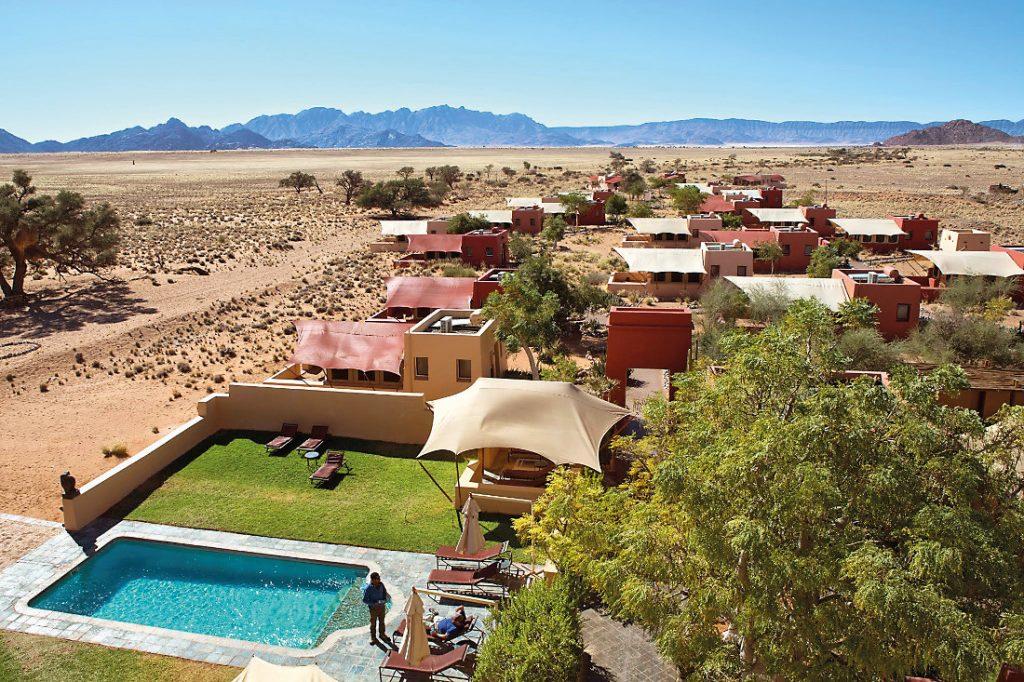 Namibia Sesriem Sossusvlei Lodge Iwanowskis Reisen - afrika.de