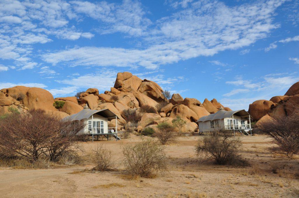 Namibia Spitzkoppen Lodge Unterkünfte Iwanowskis Reisen - afrika.de