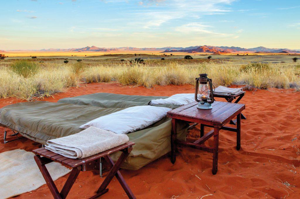 Namibia NamibRand Nature Reserve Tok Tokkie Trail Übernachtung Iwanowskis Reisen - afrika.de
