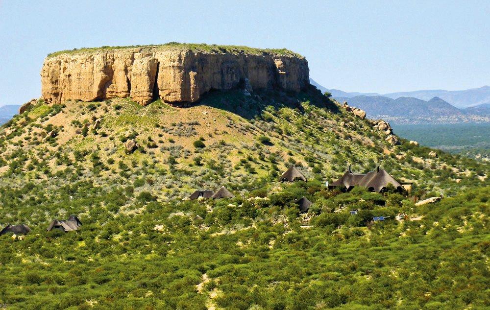 Namibia Vingerklip Lodge Lage Iwanowskis Reisen - afrika.de