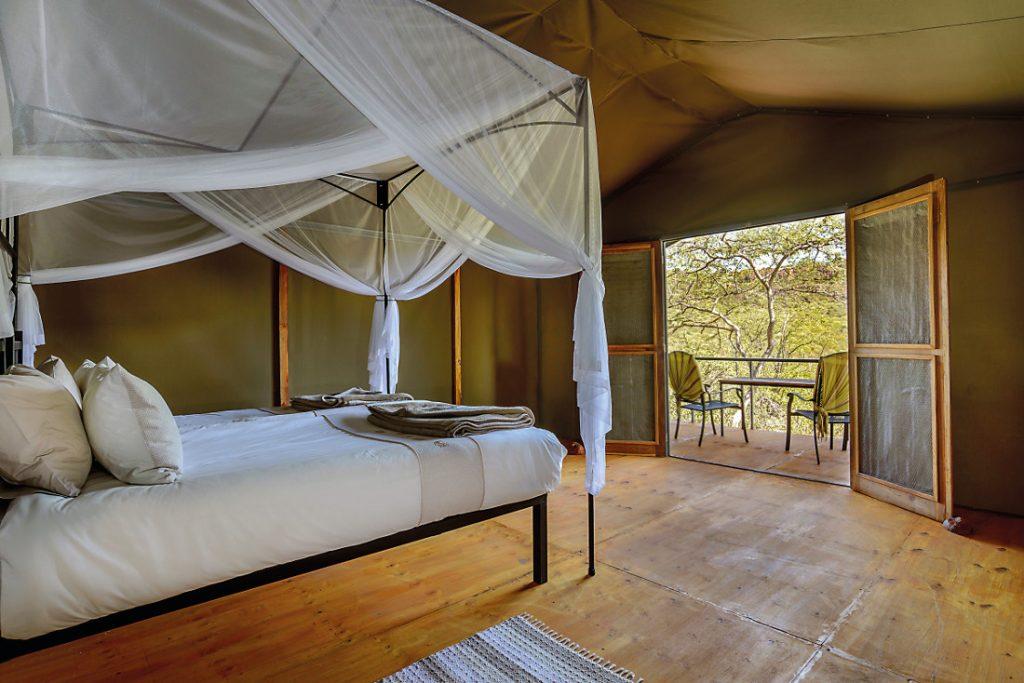 Namibia Waterberg Valley Lodge Zeltunterkunft Iwanowskis Reisen - afrika.de