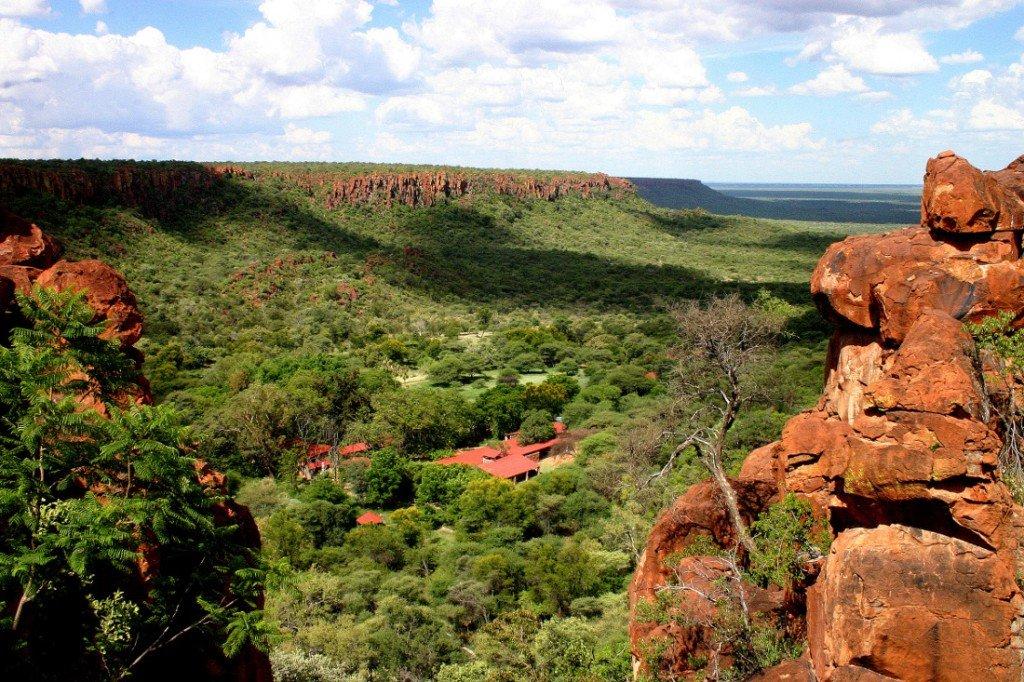 Namibia Waterberg Wilderness Lodge Lage Iwanowskis Reisen - afrika.de