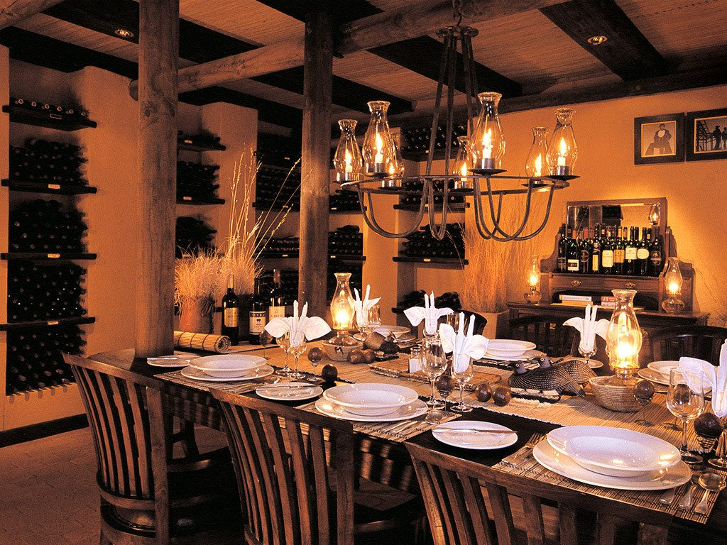 Namibia NamibRand Nature Reserve Wolwedans Dunes Lodge Restaurant Iwanowskis Reisen - afrika.de