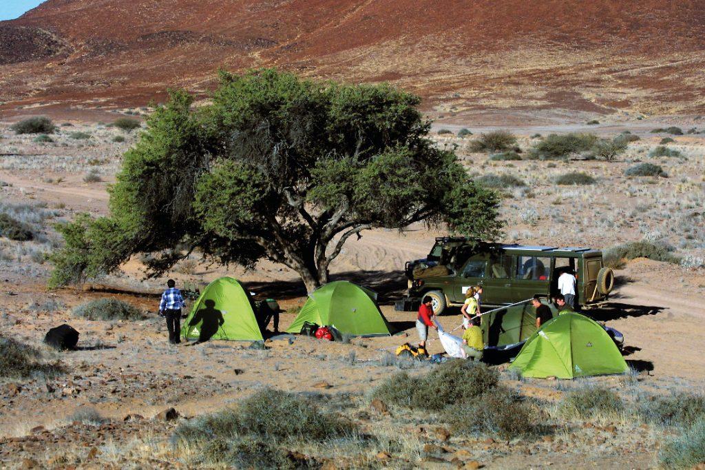 Namibia Familiensafari Camping Zelte Outdoor Adventures Iwanowskis Reisen - afrika.de