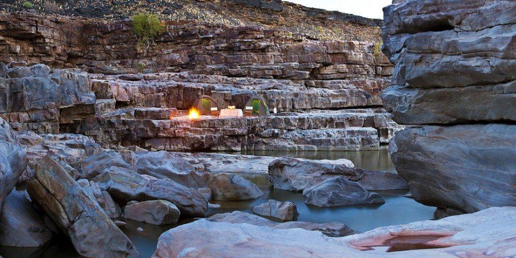 Namibia_Fish River Wanderung_Camping