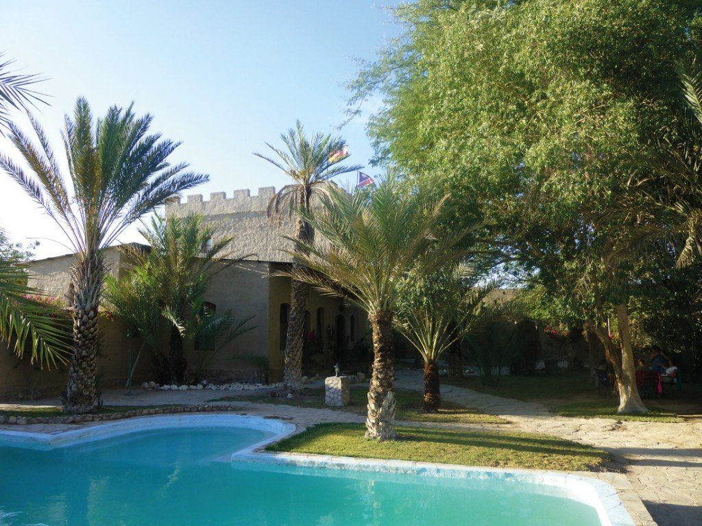 Namibia_Fort Sesfontein Pool