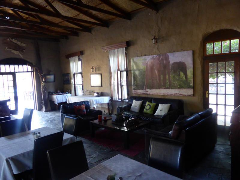 Namibia_Fort Sesfontein_Lounge