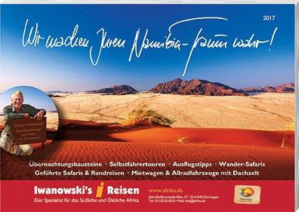 Namibia-Reisen Katalog 2017