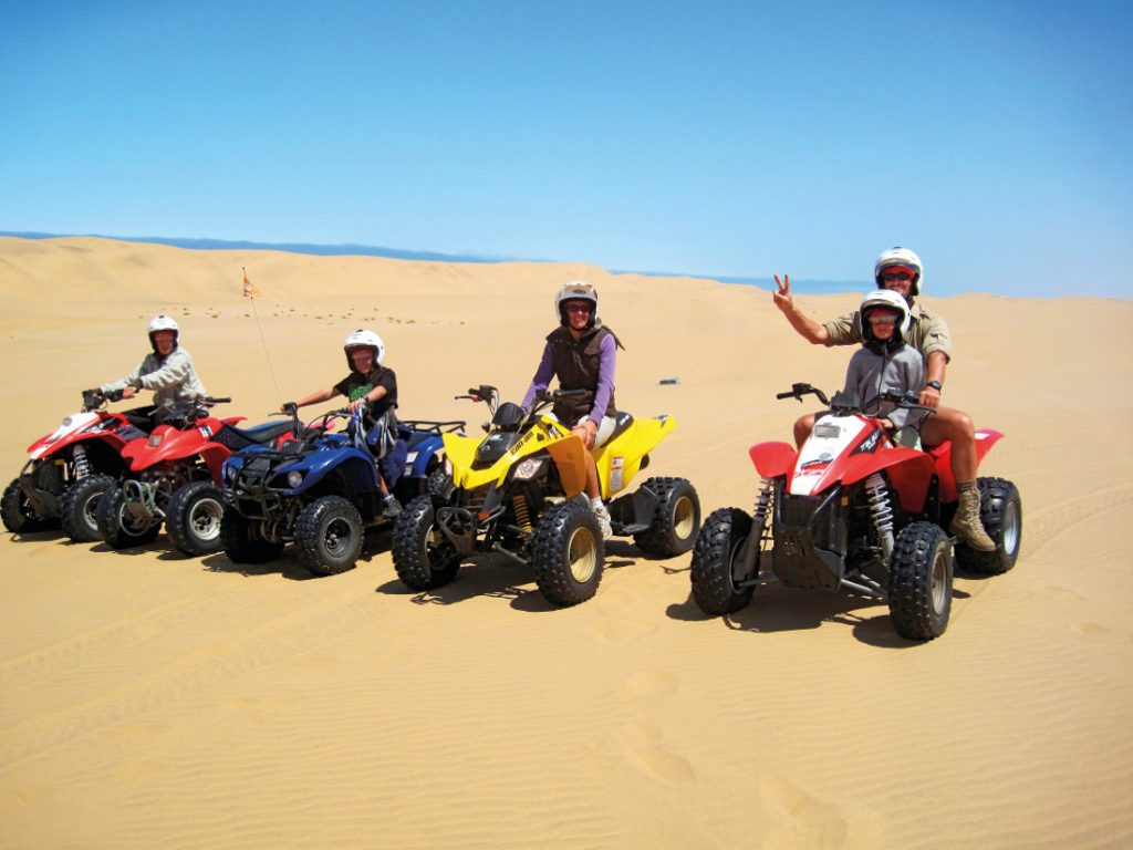 Namibia Familiensafari Dünen Quadbiking Outdoor Adventures Iwanowskis Reisen - afrika.de