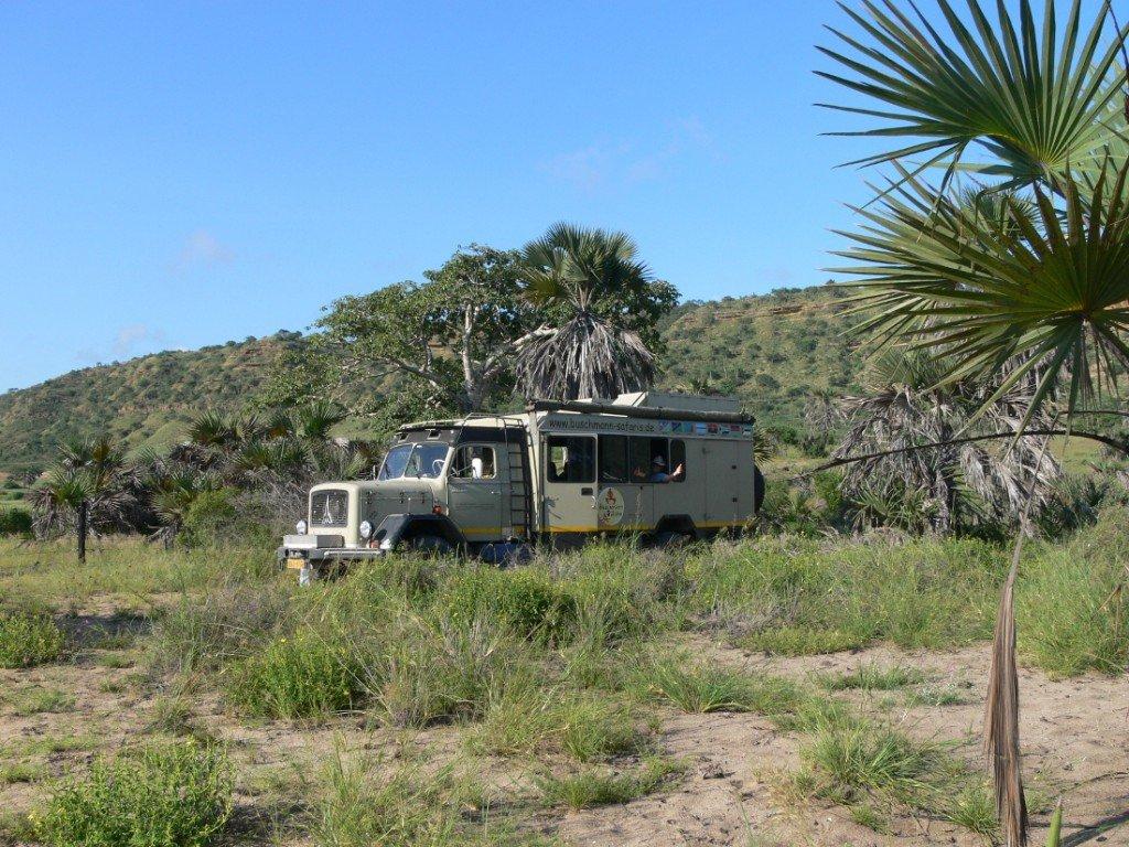 Namibia Familiensafari Safaritruck Buschmann Safaris Iwanowskis Reisen - afrika.de
