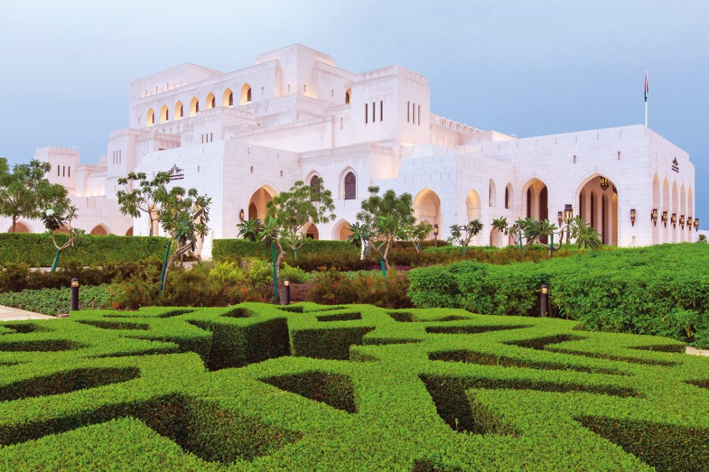 Oman Rundreise Maskat Opern House Royal Opera Iwanowskis Reisen - afrika.de