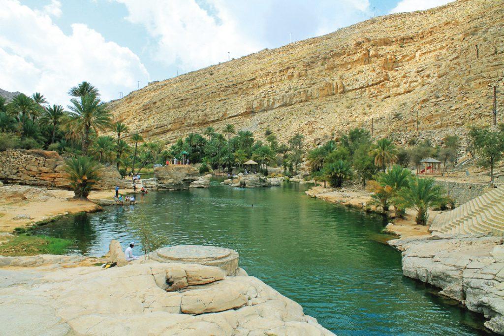 Oman Wadi Bani Khalid Gruppenreise Rundreise Iwanowskis Reisen - afrika.de