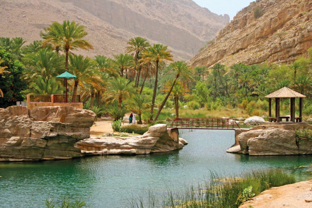 Oman Rundreise Wadi Bani Khalid Iwanowskis Reisen - afrika.de