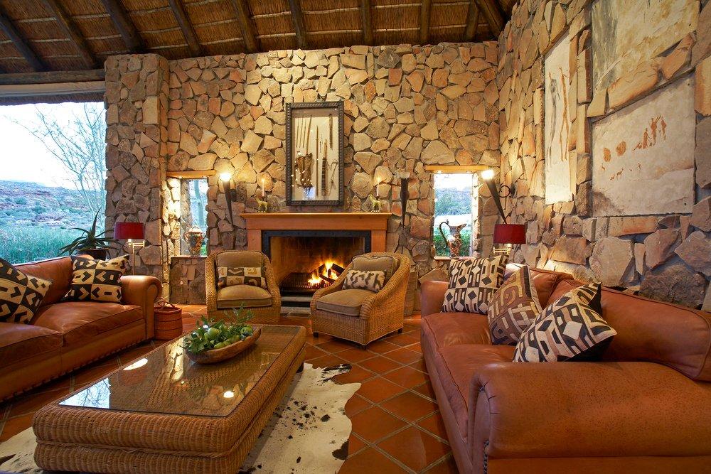 Südafrika Cederberge Bushmans Kloof Lounge Iwanowskis Reisen - afrika.de