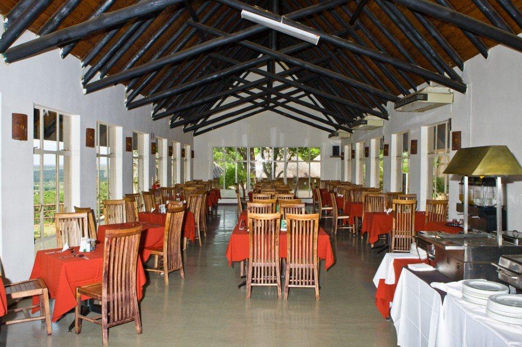 Südafrika Krüger National Park Camp Olifants Restaurant Iwanowskis Reisen - afrika.de