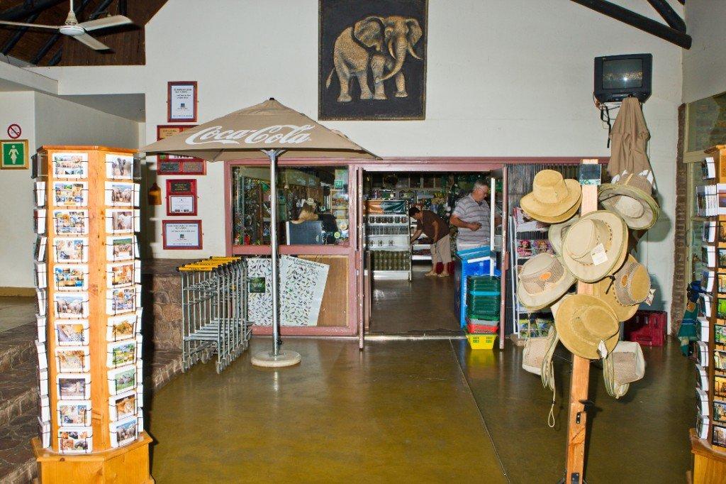 Südafrika Krüger National Park Camp Olifants Shop Iwanowskis Reisen - afrika.de