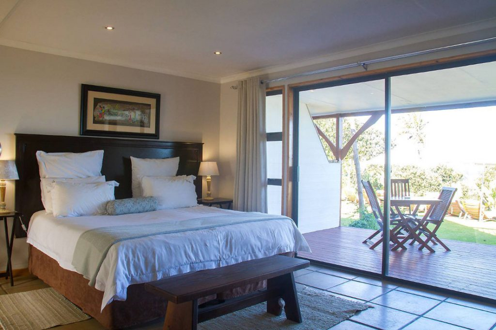 Südafrika Eastern Cape Wild Coast Crawfords Beach Lodge Zimmer Iwanowskis Reisen - afrika.de