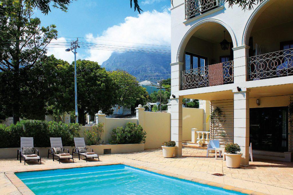 Südafrika Kapstadt De Tafelberg Guesthouse Iwanowskis Reisen - afrika.de