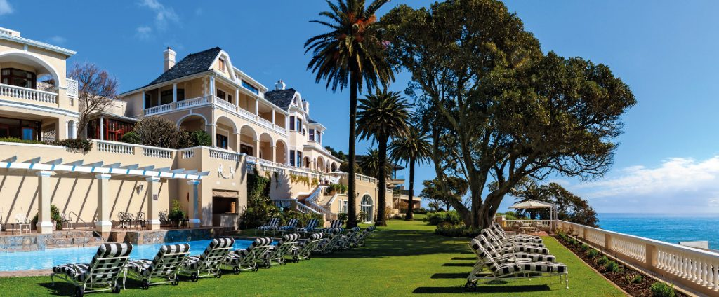 Südafrika Kapstadt Ellerman House Pool Iwanowskis Reisen - afrika.de