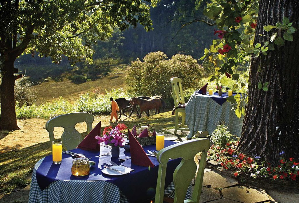 Südafrika Swasiland Foresters Arms Garten Iwanowskis Reisen - afrika.de