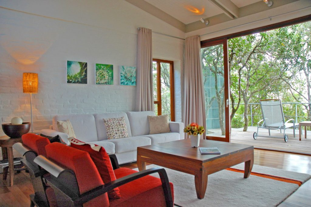 Südafrika Hermanus Grootbos Nature Reserve Forest Lodge Suite Lounge Iwanowskis Reisen - afrika.de