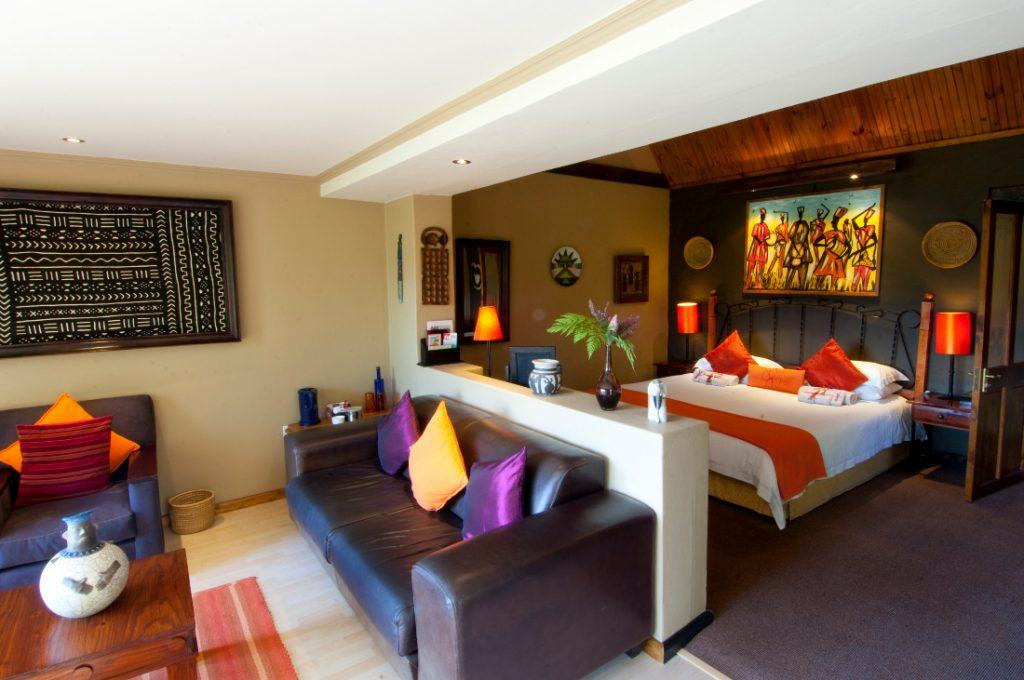 Südafrika Plettenberg Bay Hog Hollow Country Lodge Zimmer Iwanowskis Reisen - afrika.de
