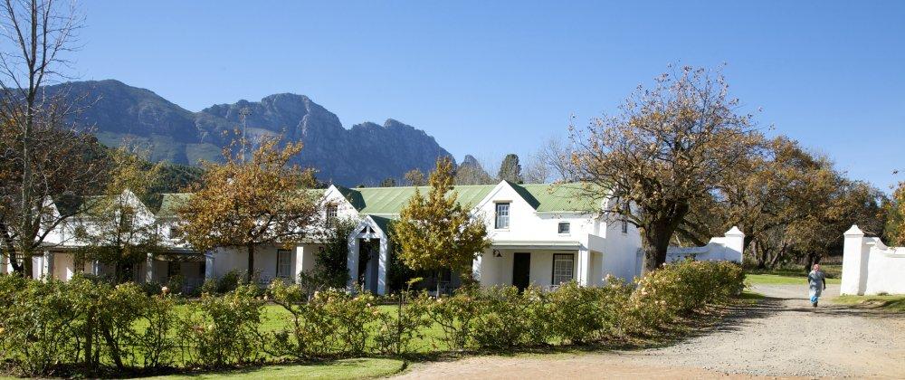 Südafrika Stellenbosch Knorhoek Guest House Iwanowskis Reisen - afrika.de