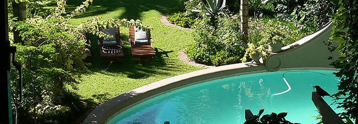 Südafrika Upington Le Must River Residence Pool Iwanowskis Reisen - afrika.de