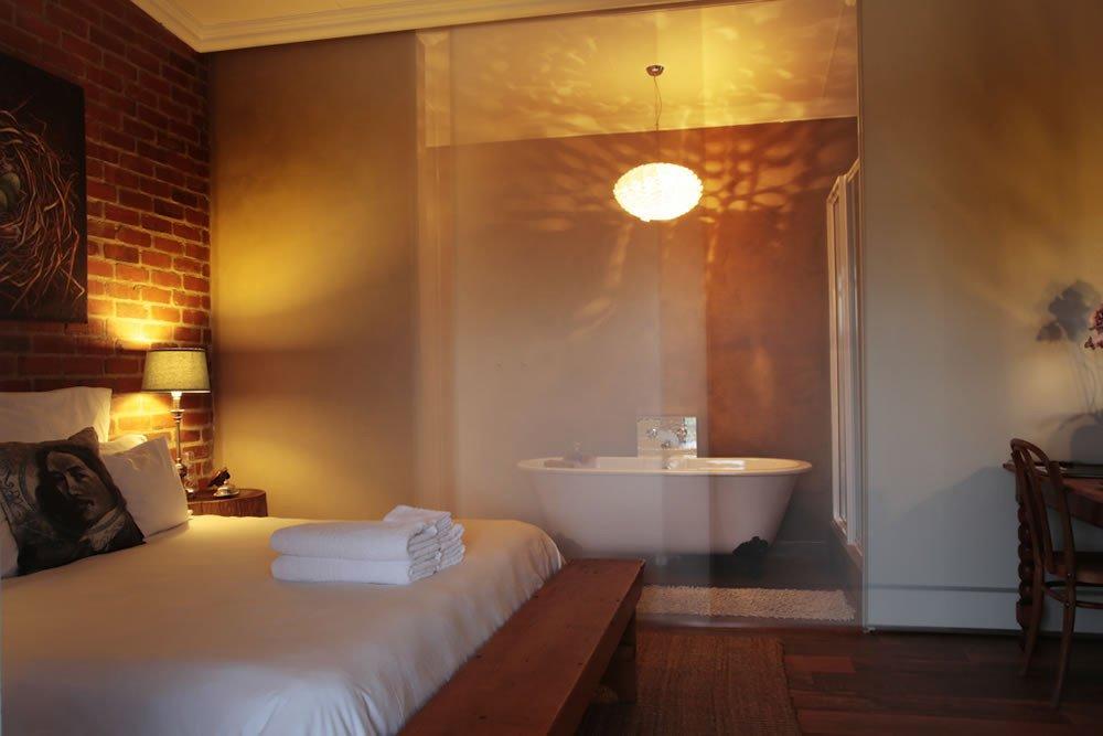 Südafrika Bloemfontein Liedjiesbos Guesthouse Zimmer Iwanowskis Reisen - afrika.de