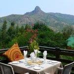 Südafrika Swasiland Mantenga Lodge Terrasse Iwanowskis Reisen - afrika.de