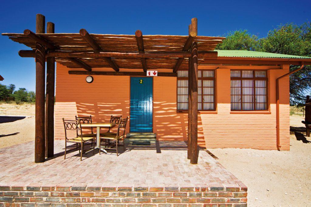 Südafrika Kgalagadi Transfrontier Park Mata Mata Camp Unterkunft Iwanowskis Reisen - afrika.de