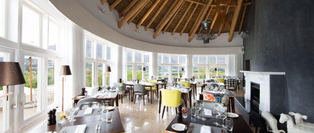 Südafrika Franschhoek Mont Rochelle Restaurant Miko Iwanowskis Reisen - afrika.de