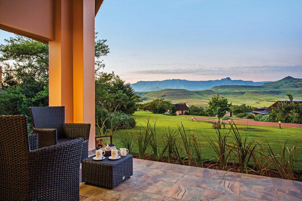Südafrika Drakensberge Montusi Mountain Lodge Iwanowskis Reisen - afrika.de