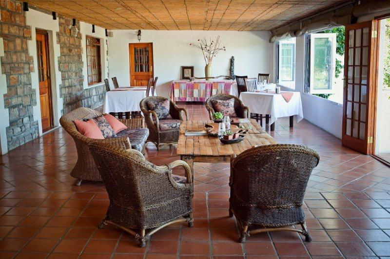 Südafrika Namaqualand Naries Namaqua Retreat Restaurant Lounge Iwanowskis Reisen - afrika.de