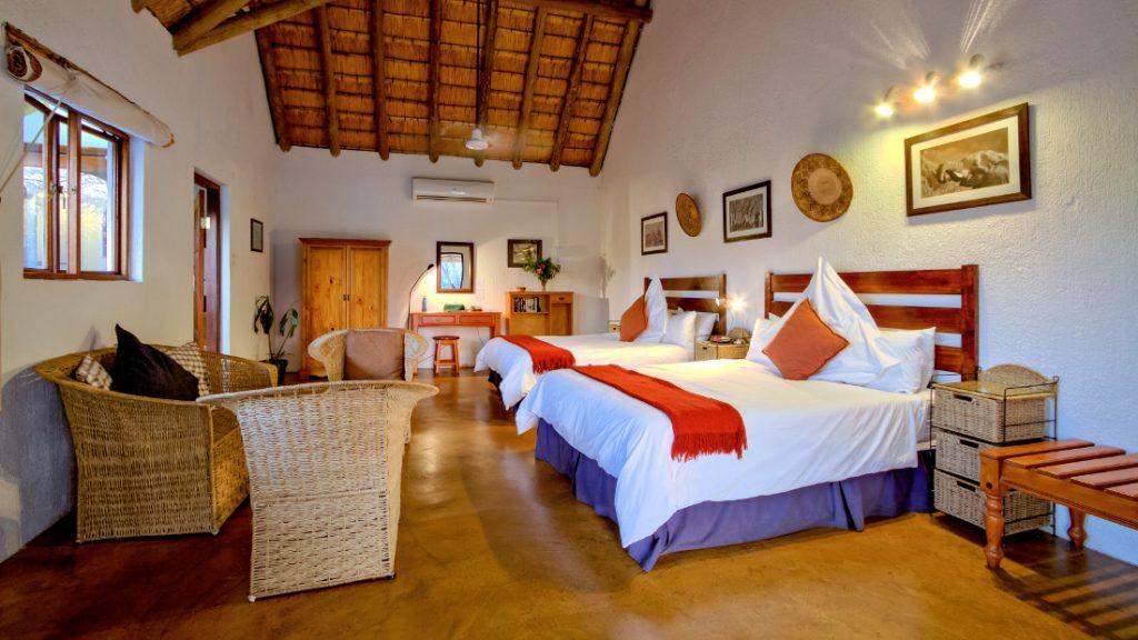 Südafrika Hazyview Rissington Inn Garten Suite Iwanowskis Reisen - afrika.de
