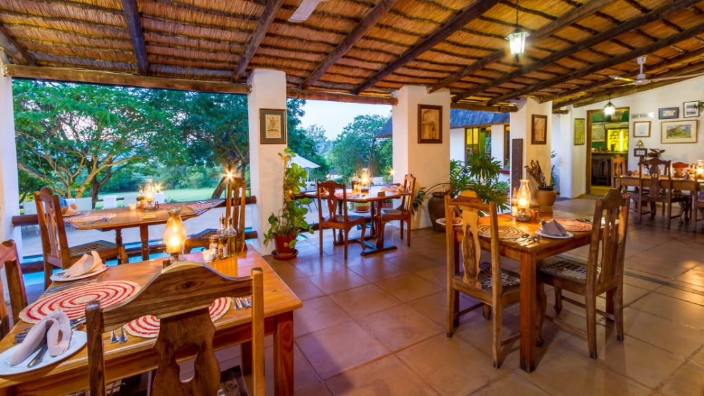 Südafrika Hazyview Rissington Inn Restaurant Iwanowskis Reisen - afrika.de