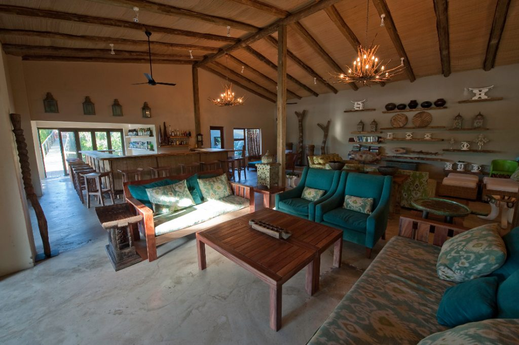 Südafrika KwaZulu-Natal Rocktail Beach Camp Lounge Iwanowskis Reisen - afrika.de