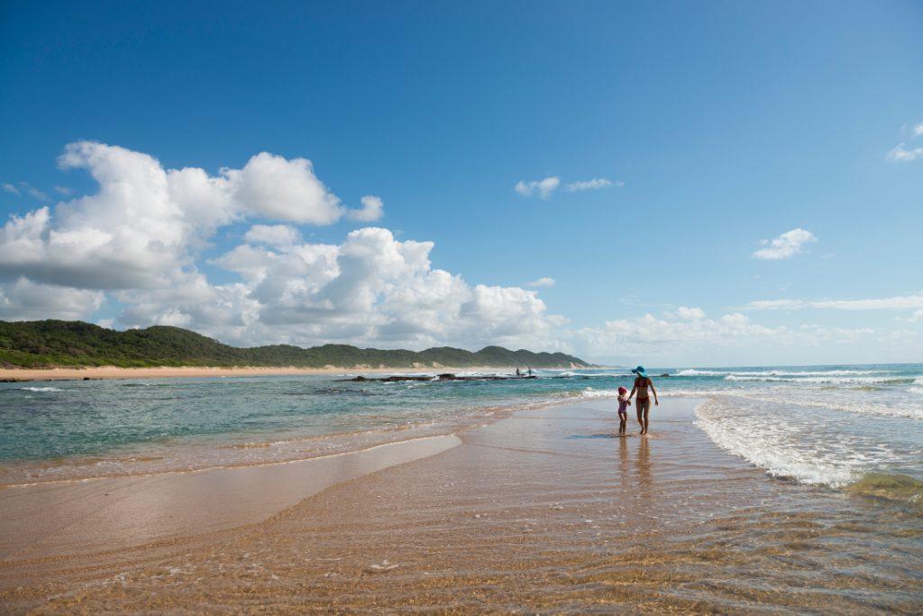 Südafrika KwaZulu-Natal Rocktail Beach Camp Strand Iwanowskis Reisen - afrika.de